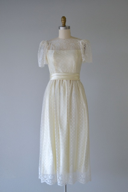 1950\'s Wedding Gown